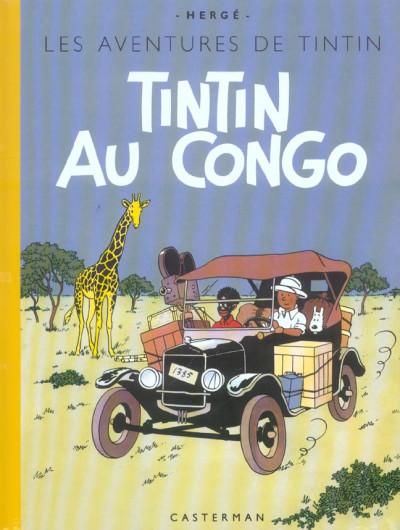 image de Tintin tome 2 - tintin au congo (fac-similé couleurs 1946)