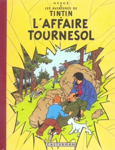 Couverture Tintin tome 18 - l'affaire tournesol (fac-similé couleurs 1954-56)