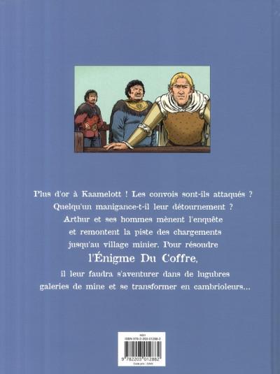 Dos Kaamelott tome 3 - l'énigme du coffre