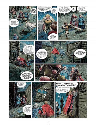 Page 5 Kaamelott tome 3 - l'énigme du coffre