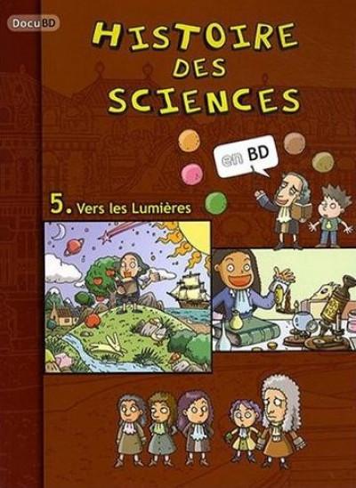 Couverture histoire des sciences tome 5 - vers les Lumières