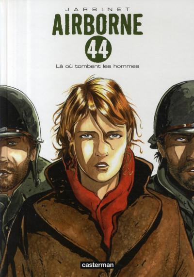 Couverture airborne 44 tome 1 - là où tombent les hommes