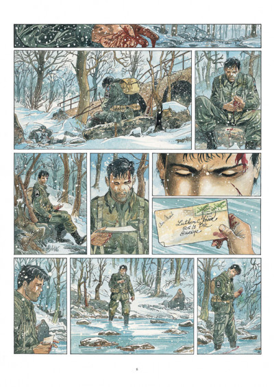 Page 4 airborne 44 tome 1 - là où tombent les hommes