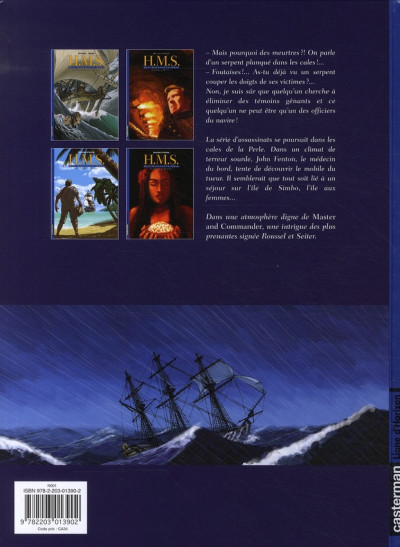 Dos H.m.s. tome 4 - his majesty's ship tome 4 - le secret de la perle