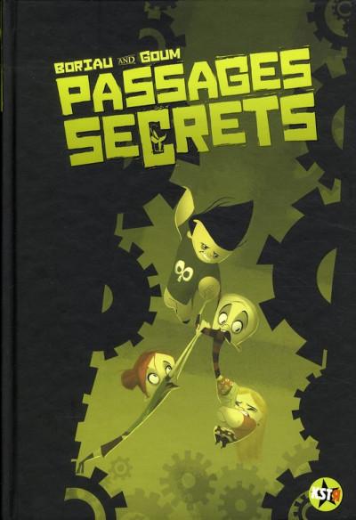 Couverture passages secrets