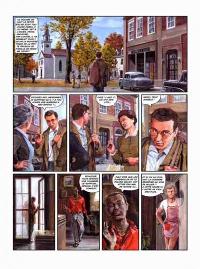Page 8 Red bridge tome 1 - mister joe and willoagby