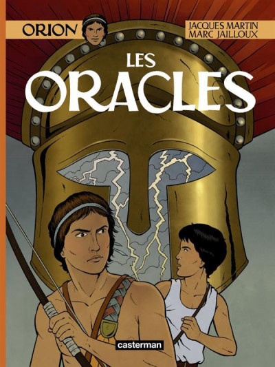 Couverture Orion tome 4 - les oracles
