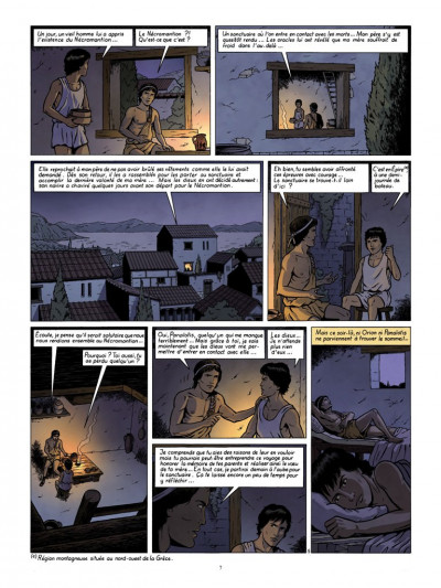 Page 5 Orion tome 4 - les oracles