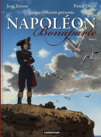 Couverture Napoléon bonaparte tome 1