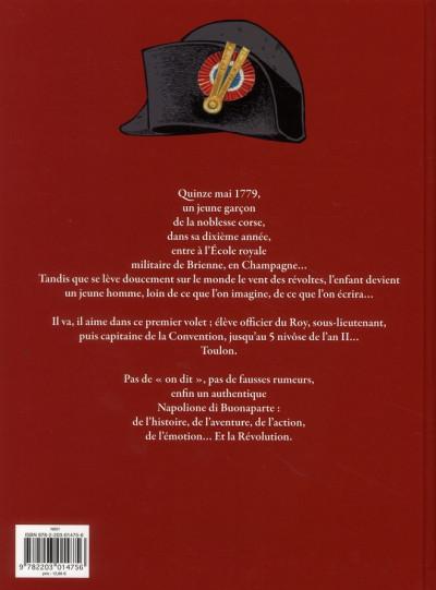 Dos Napoléon bonaparte tome 1