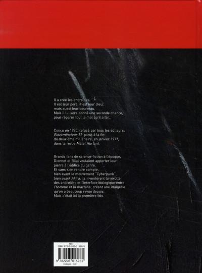 Dos Exterminateur 17 - la trilogie d'ellis tome 1 - re-naissance
