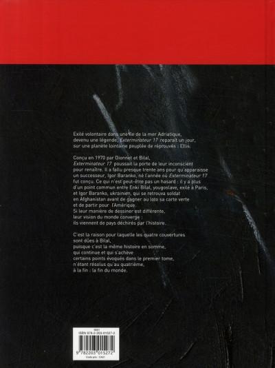 Dos Exterminateur 17 - la trilogie d'ellis tome 2 - l'alliance