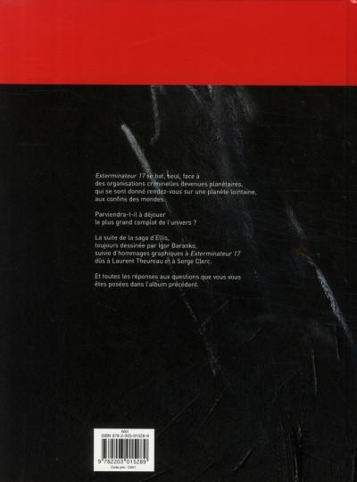 Dos Exterminateur 17 - la trilogie d'ellis tome 3 - retour à ellis