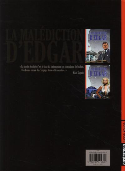 Dos la malédiction d'edgar tome 3 - this is the end