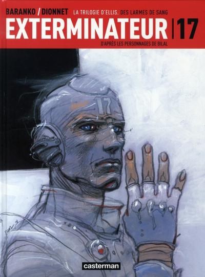 Couverture Exterminateur 17 - la trilogie d'ellis tome 4 - des larmes de sang