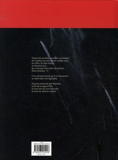 Dos Exterminateur 17 - la trilogie d'ellis tome 4 - des larmes de sang