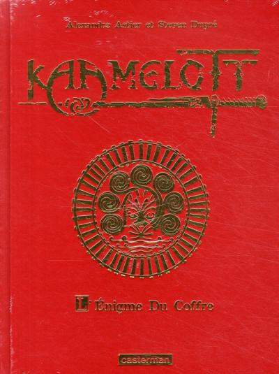 Couverture Kaamelott tome 3 - l'énigme du coffre (luxe)