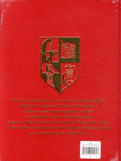 Dos Kaamelott tome 3 - l'énigme du coffre (luxe)