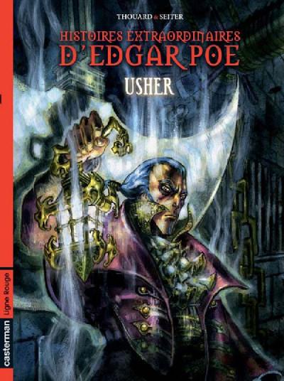Couverture Histoires extraordinaires d'Edgar Poe tome 2 - usher