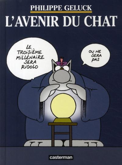 Couverture Mini chat tome 9 - l'avenir du chat