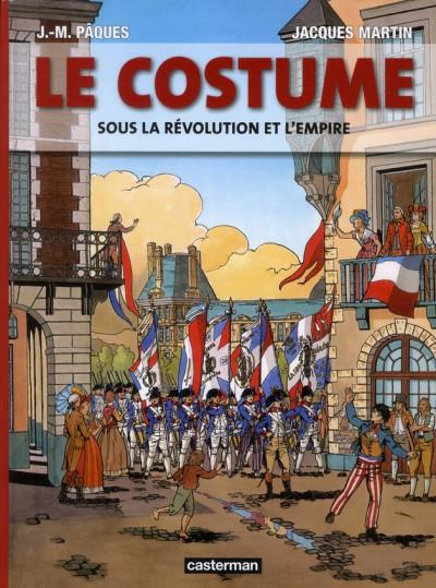 Couverture Le costume sous la révolution et l'empire