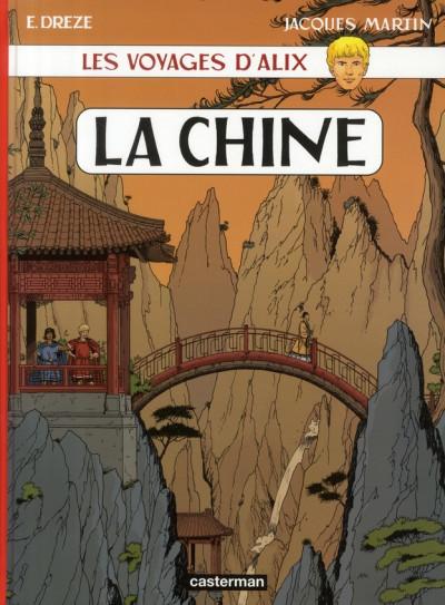 Couverture Les voyages d'alix tome 28 - la chine