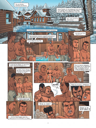 Page 1 L'agence tome 4 - dossier vierge noire