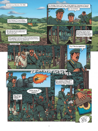 Page 2 L'agence tome 4 - dossier vierge noire