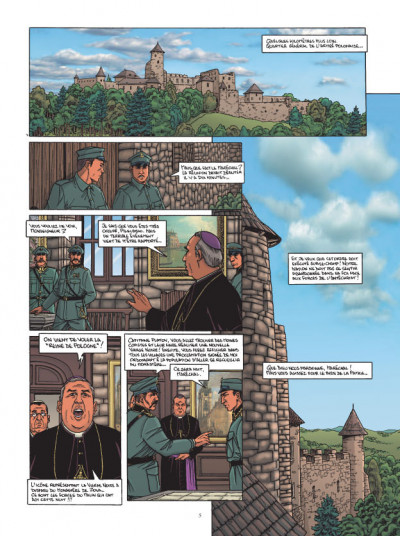Page 3 L'agence tome 4 - dossier vierge noire