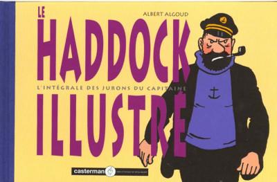 Couverture Le Haddock illustré -  L'intégrale des jurons du capitaine