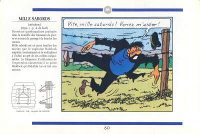 Page 1 Le Haddock illustré -  L'intégrale des jurons du capitaine