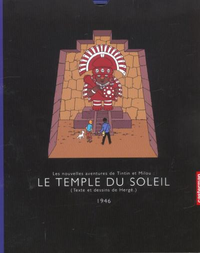 image de Tintin tome 14 - le temple du soleil (réédition)