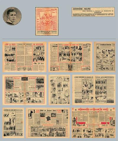 Page 1 tintin ; dossier tintin ; l'île noire ; les tribulations d'une aventure