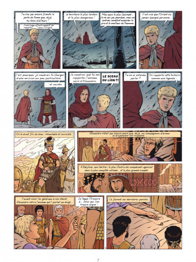 Page 5 Alix tome 32