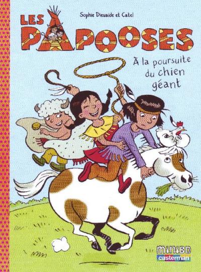 image de Les papooses tome 2 - à la poursuite du chien géant