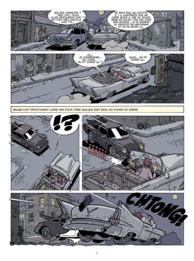 Page 2 Canardo tome 18 - la fille sans visage