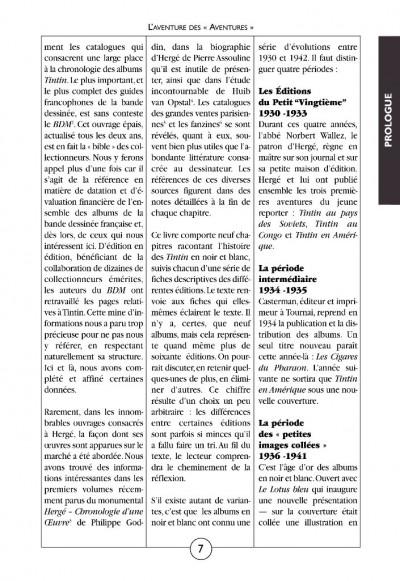 Page 4 Tintin noir sur blanc ; l'aventure des aventures (édition 2008)
