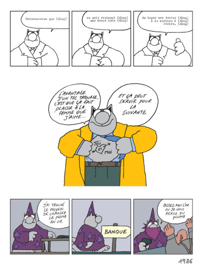 Page 1 Le chat tome 15 - une vie de chat