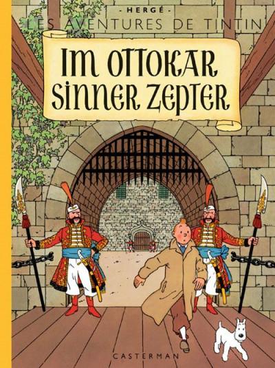 image de Les aventures de Tintin tome 8 - im Ottokar sinner zepter