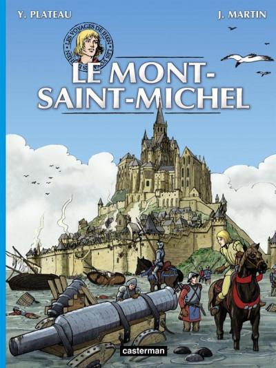 Couverture Les voyages de jhen - le Mont-Saint-Michel