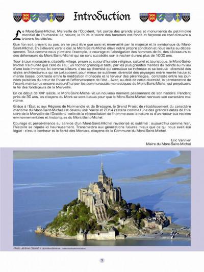 Page 1 Les voyages de jhen - le Mont-Saint-Michel