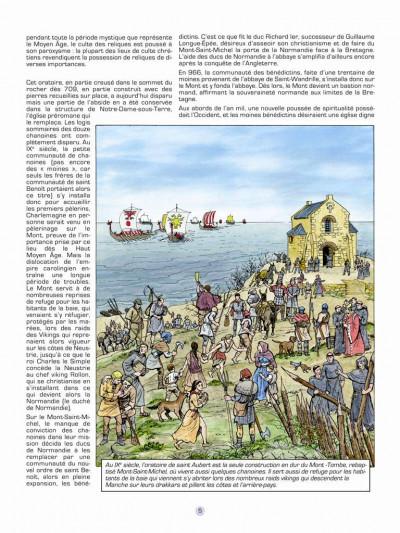 Page 3 Les voyages de jhen - le Mont-Saint-Michel