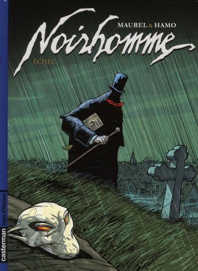 Couverture noirhomme tome 3 - échec