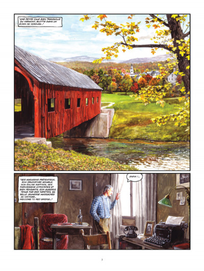 Page 1 Red bridge tome 2 - Mister Joe and Willoagby