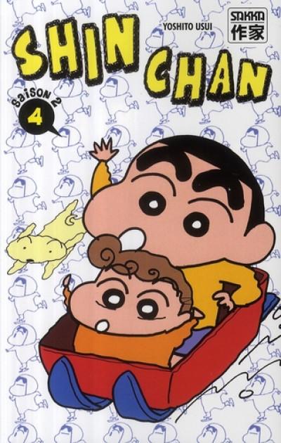 Couverture Shin chan, saison 2 tome 4