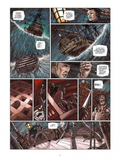 Page 3 H.m.s. tome 5 - his majesty's ship tome 5 - le pirates