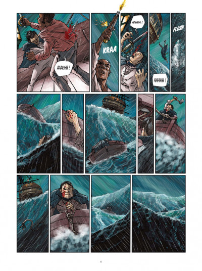 Page 4 H.m.s. tome 5 - his majesty's ship tome 5 - le pirates