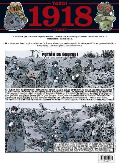 Couverture journal de guerre tome 5 - 1918