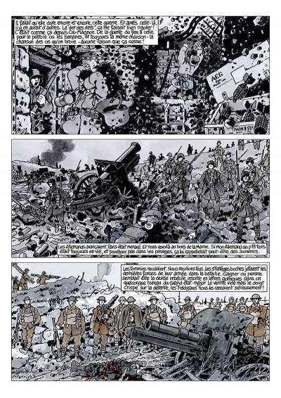 Page 4 journal de guerre tome 5 - 1918