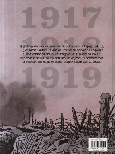 Dos Putain de guerre tome 2 - 1917-1918-1919